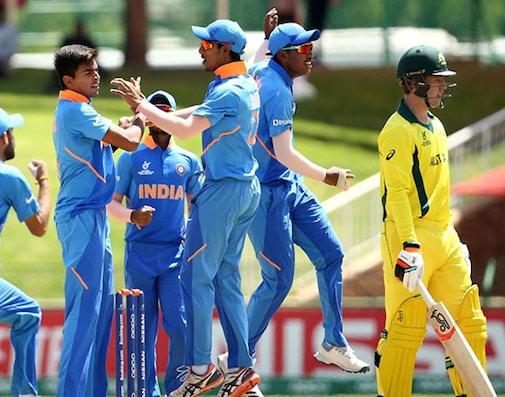 U-19 World Cup: Tyagi Stars As India Beat Australia In Quarter-Finals