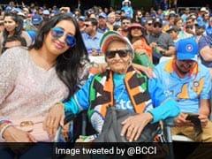 "Shikhar Dhawan Pays Heartfelt Tribute To Team India ""Superfan"" Charulata Patel"