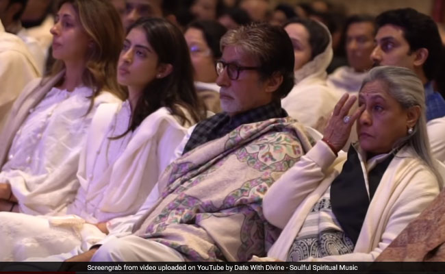 Ritu Nanda's Prayer Meet: Amitabh Bachchan, Shweta, Agastya, Navya Naveli, Rishi Kapoor And Others Attended