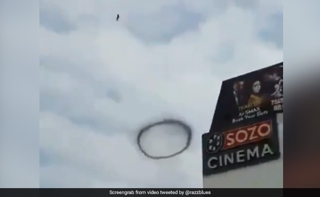 Mysterious Black Ring Seen Over Lahore In Viral Video. It Could Be...