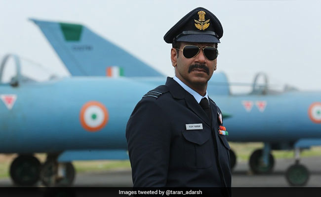 Bhuj: The Pride Of India First Look - Ajay Devgn As Air Force Officer Vijay Karnik Is Impressive