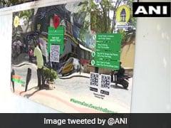 Bengaluru Civic Body Installs Mirror Boards To Tackle Public Urination
