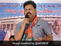 """Muslims Store Arms In Mosques"": Karnataka MLA's Remarks Disowned By BJP"