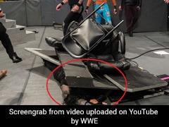 WWE में रोमन रेंस को घसीट-घसीटकर पीटा, इतना मारा कि टूट गई टेबल, देखें पूरा Video