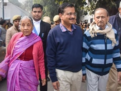Arvind Kejriwal Waits His Turn At Election Office As Poll Deadline Nears
