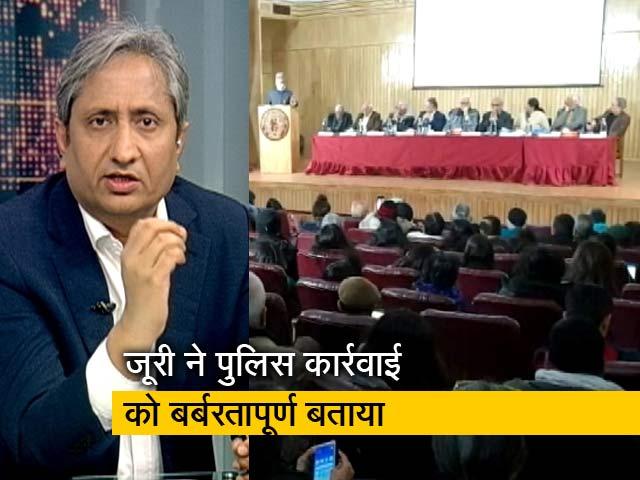 Videos : रवीश कुमार का प्राइम टाइम: यूपी पुलिस के बर्बर रवैये पर हुई जन सुनवाई