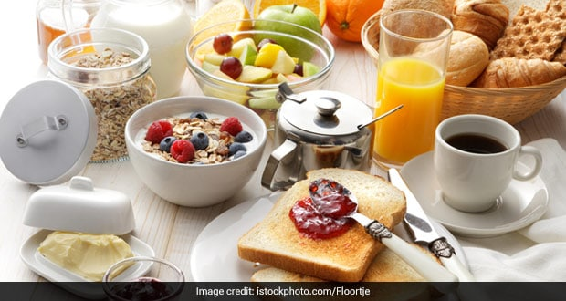 People eating big breakfast meals may burn twice as many calories