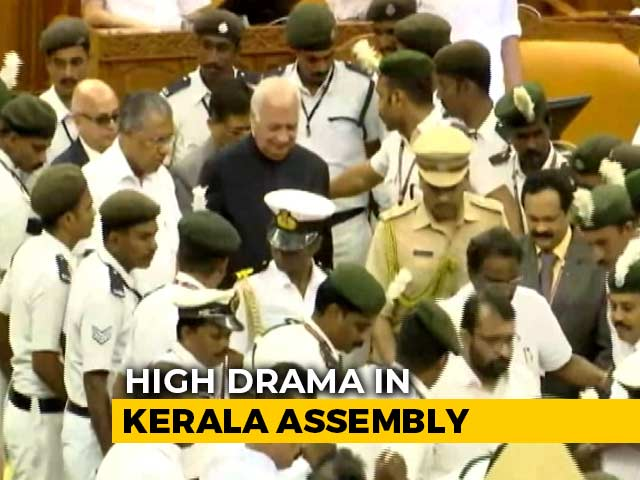 "Video : ""I Disagree But..."": Kerala Governor's Unusual Mid-Speech CAA Disclaimer"
