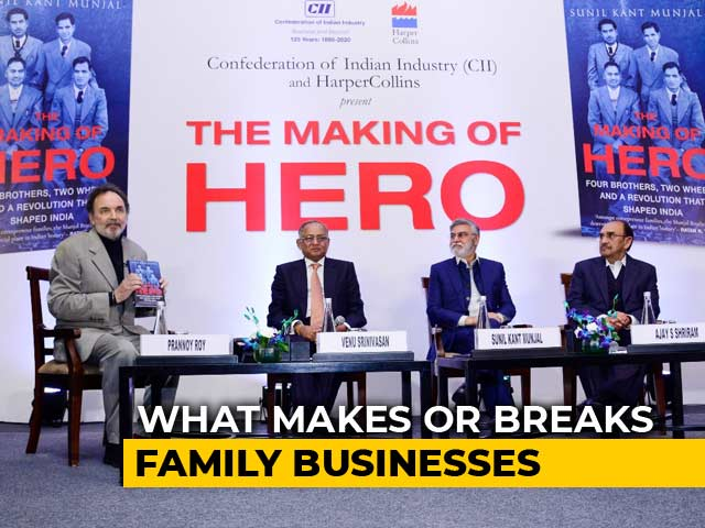 Video : Prannoy Roy Speaks To Bosses Of India Inc On Family Businesses