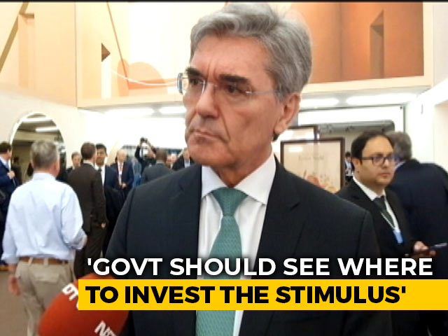 Video : Less Than 5% Growth For Developing Economy Like India Is No Good: Joe Kaeser