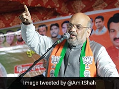 """Press Button With Such Anger That Shaheen Bagh Feels Current"": Amit Shah"