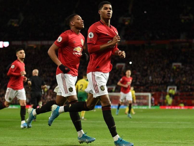 Marcus Rashford Scores Twice As Manchester United Thrash Norwich
