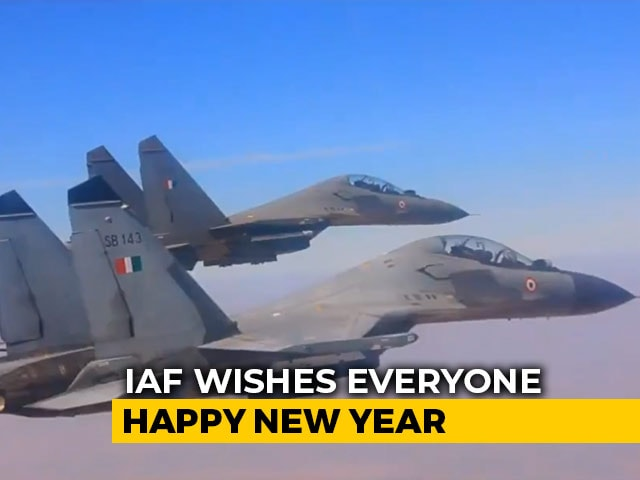 "Video : ""A Very Happy New Year,"" Tweets Air Force With A Video"