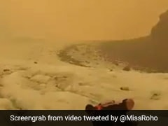 Australian Bushfire Smoke Turns New Zealand Glaciers Brown