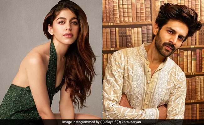 'I Won't Be Surprised If I Woke Up And Found Kartik Aaryan In My Bed': Alaya Furniturewalla