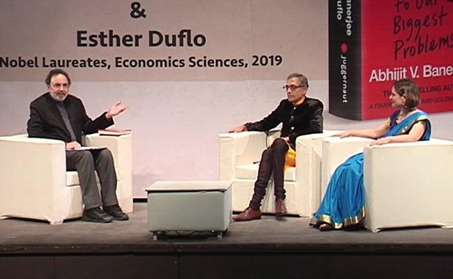 Prannoy Roy Speaks To Nobel Laureates Esther Duflo And Abhijit Banerjee: Full Transcript