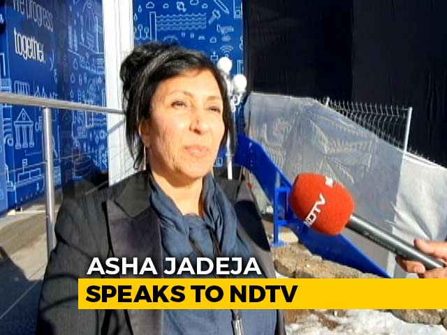 "Video : ""Super Excited About Indian Companies"": Venture Capitalist Asha Jadeja At Davos"