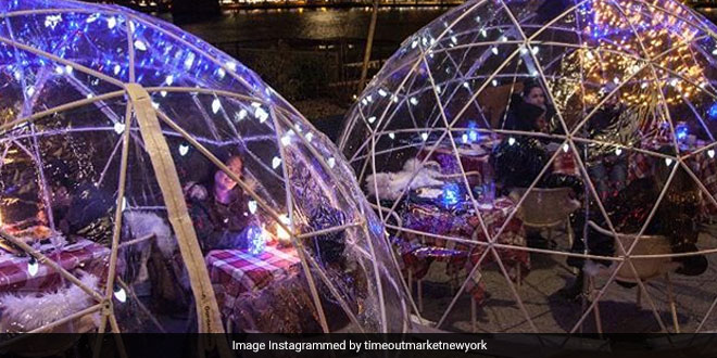 Fancy A Dinner Inside An Igloo? This New York Restaurant Is Just What You're Looking For