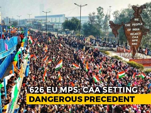 "Video : ""Entirely Internal"": India As 600 EU Lawmakers Move Anti-CAA Resolutions"