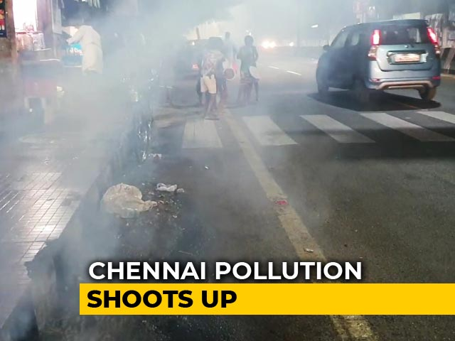 Video : Severe Pollution Hits Chennai After Bogi Festival