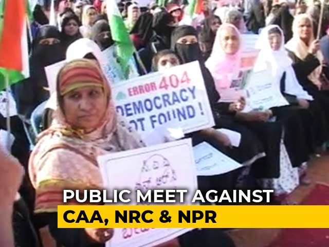 Video : In Bengaluru, Protests Against Citizenship Law Continue