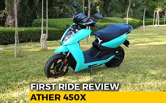 Video : Ather 450X Review
