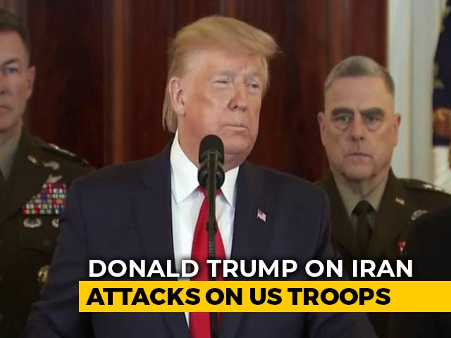 Video : 'No Americans Harmed' In Iranian Missile Attack: Donald Trump