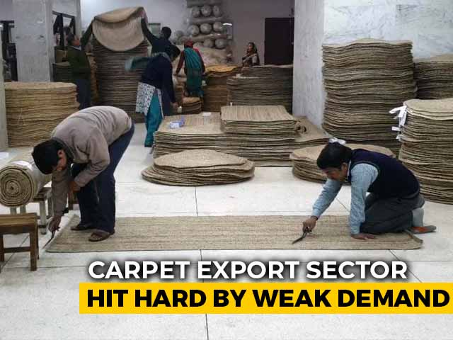 Video : Slowdown Hits High-End Carpet Exports