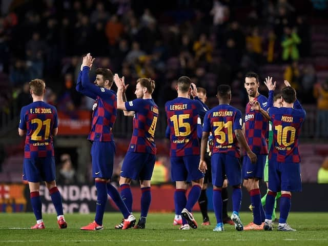 Barcelona Slash Salaries After Coronavirus Brings Football To A Halt
