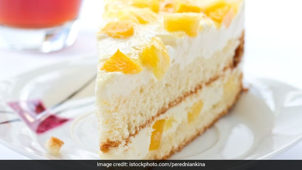 Pineapple Cake Recipe By Niru Gupta Ndtv Food