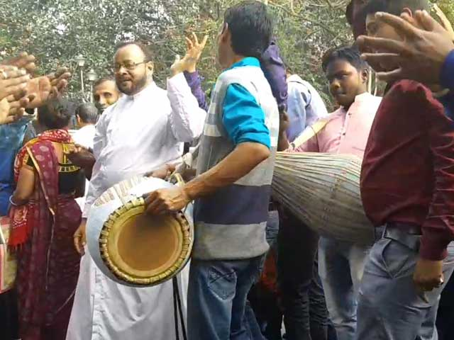 """Video : """"We Could Be Next"""": Christian Priests Protest Citizenship Act In Kolkata"""