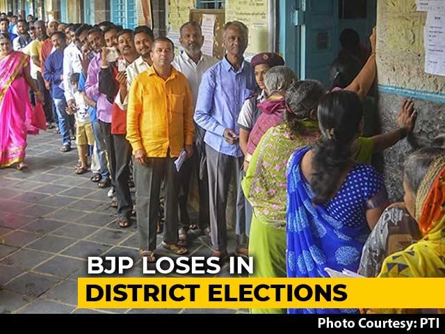 Video : Sena, NCP, Congress Score In Maharashtra District Polls, BJP Loses Nagpur