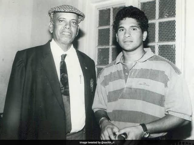 Sachin Tendulkar tweets on coach Ramakant Achrekars death anniversary