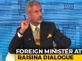 "Video : ""Today We Do More Than We Speak,"" Says S Jaishankar At Raisina Dialogue"