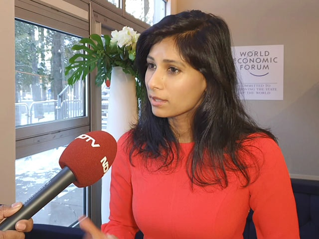 Video: IMF To Track India Protests, Assessment In April: Gita Gopinath To NDTV