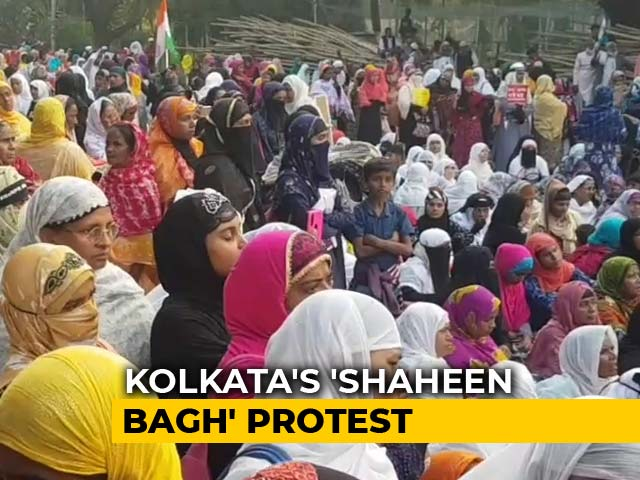 Video: Shaheen Bagh-Like Protest In Park Circus, Kolkata