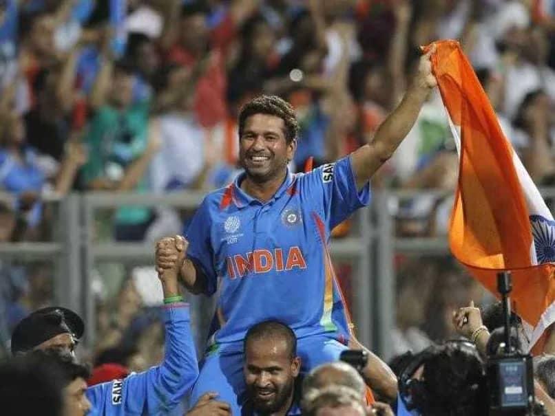 Sachin Tendulkar Carried On Shoulders World Cup 2011 Moment Nominated For Laureus Award
