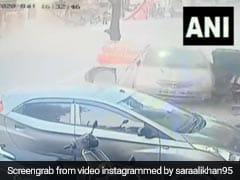 Video: तेज रफ्तार कार ने कुछ सेकेंड में मचाई तबाही, 2 साइकिल, 1 गाड़ी और 1 बाइक को मारी टक्कर