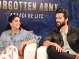 Video : Sunny Kaushal And Sharvari On Director Kabir Khan And <i>The Forgotten Army</i>