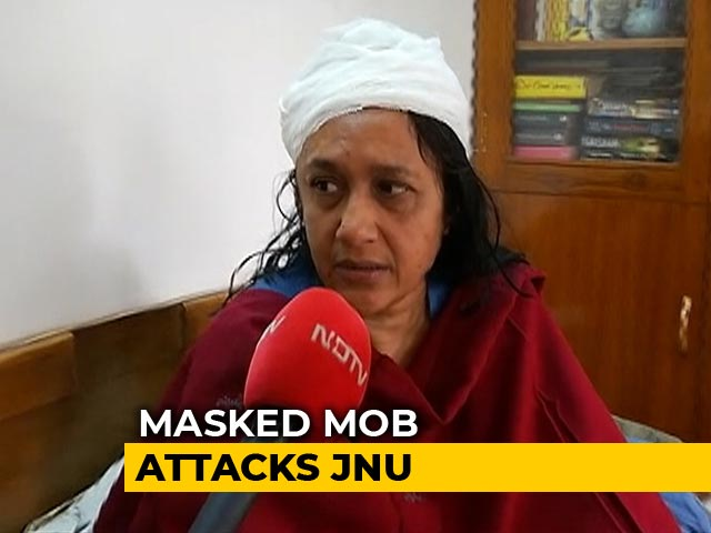 Video : 'Scared To Go Back To JNU For The First Time': Professor Hurt In Attack