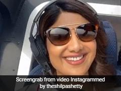 शिल्पा शेट्टी बन गईं पायलेट, यूं उड़ाया हेलिकॉप्टर- देखें वायरल Video