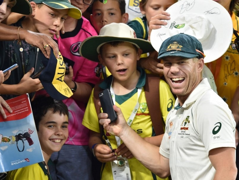 Australia vs New Zealand: David Warner Makes Young Fans Day With Grand Gesture. Watch Video
