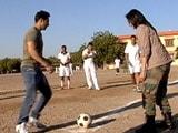 Video : <i>Jai Jawan</i>: Varun Dhawan's Football Match With Air Warriors