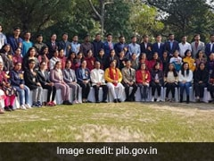 HRD Minister Felicitates 87 Meritorious Students