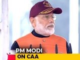 "Video : ""Brought CAA To Correct Historical Injustice,"" Says PM Modi"
