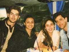 This Pic Of Hrithik Roshan, Kareena Kapoor, Rani Mukerji Is A 'Major Throwback' Treat. Courtesy - Neil Nitin Mukesh