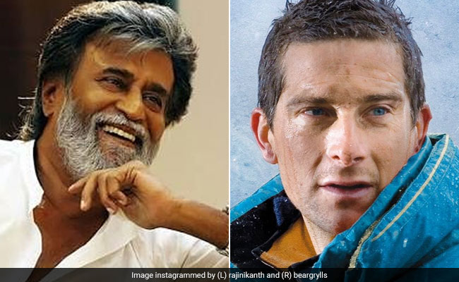 Rajinikanth And Bear Grylls For Man Vs Wild Episode. Here's All You Need To Know