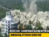 Video : Watch: Kochi Luxury Flats Come Crashing Down In Seconds, Demolition On