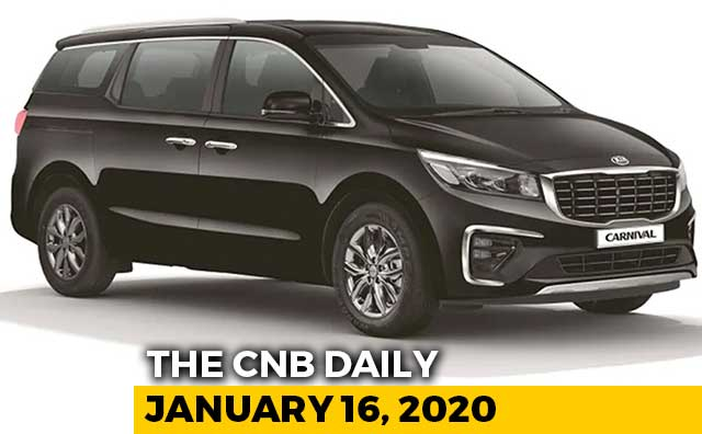 Kia Carnival Specs, MG ZS EV Launch, Renault Duster Discount