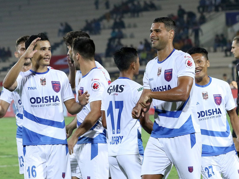 ISL: Odisha FC Come From Behind To Beat Hyderabad FC 2-1